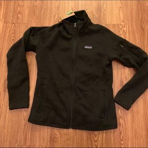 NWT Patagonia fleece zip up jacket top size small
